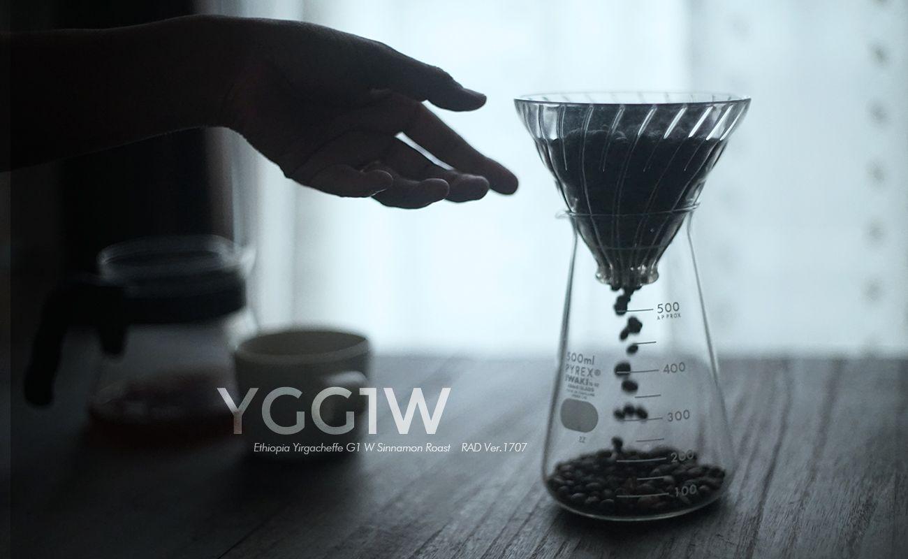 エチオピア イルガチェフェ  G1 W シナモンロースト  RAD Ver.1707 スペシャルティコーヒー通販 MORIFUJI COFFEE