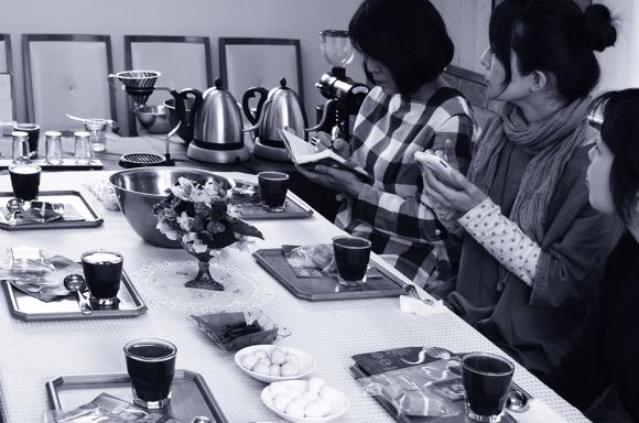スペシャルティコーヒー・ワークショップ3月29日AM