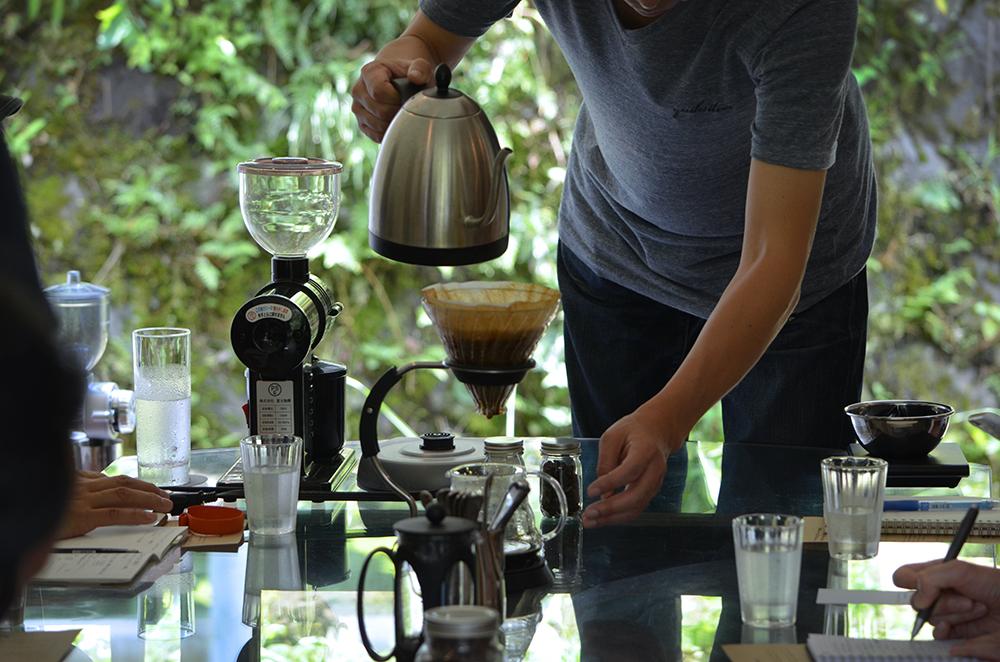 森藤コーヒー スペシャルティコーヒーワークショップ