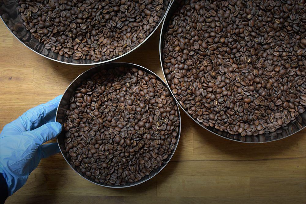 オリジナルブレンドコーヒー・パッケージの委託生産