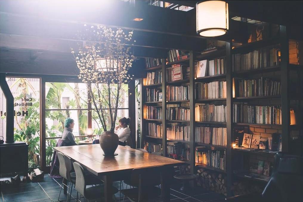 Cafe Bibliotic Hello!