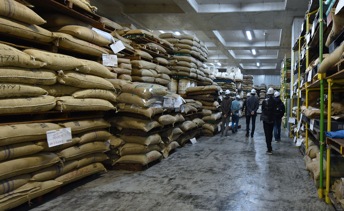 コーヒー生豆定温倉庫 サードウエーブコーヒー
